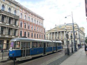 Niebieskim tramwajem przez Wrocław
